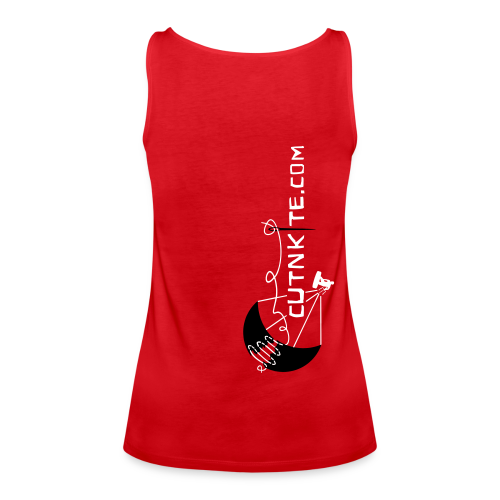SARDINIA - LessWorkMoreKite - Canotta premium da donna