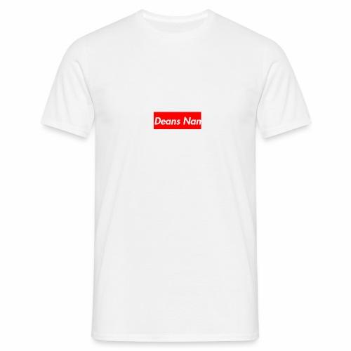 Supreme X Deans Nan Tee-Shirt Box Logo * white * - Men's T-Shirt