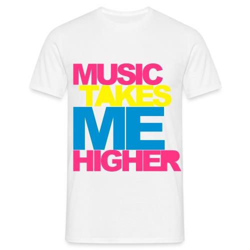 Music Takes Robert Higher - T-shirt herr