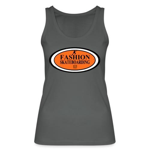 T-shirt Femme Skateboarding - Débardeur bio Femme