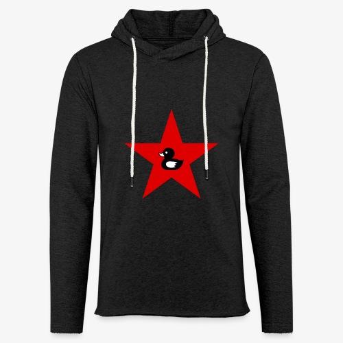 Unisex Sweatshirt mit Enten Logo  - Leichtes Kapuzensweatshirt Unisex