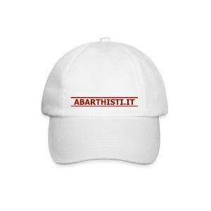 Cappellino Abarthisti bianco - Cappello con visiera