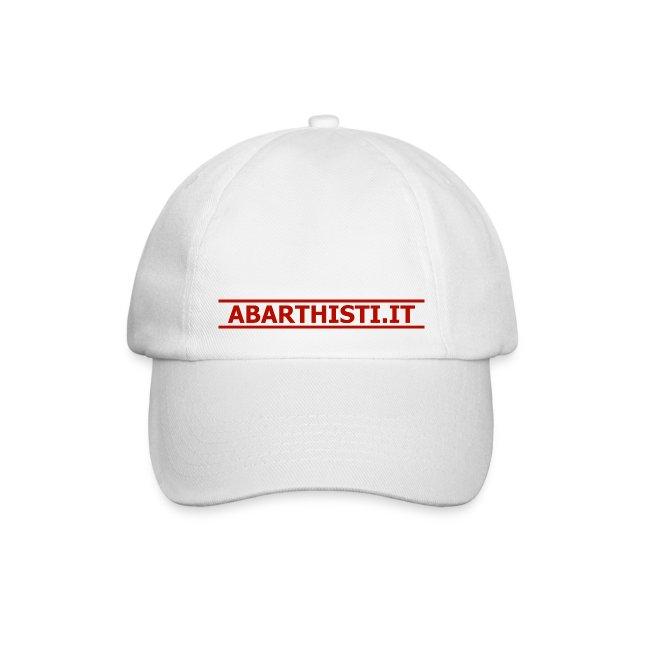 Cappellino Abarthisti bianco