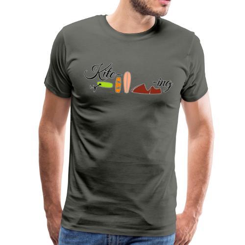 Kite-ing T-Shirt Burschn - Männer Premium T-Shirt