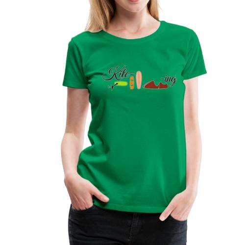 Kite-ing T-Shirt Mädls - Frauen Premium T-Shirt