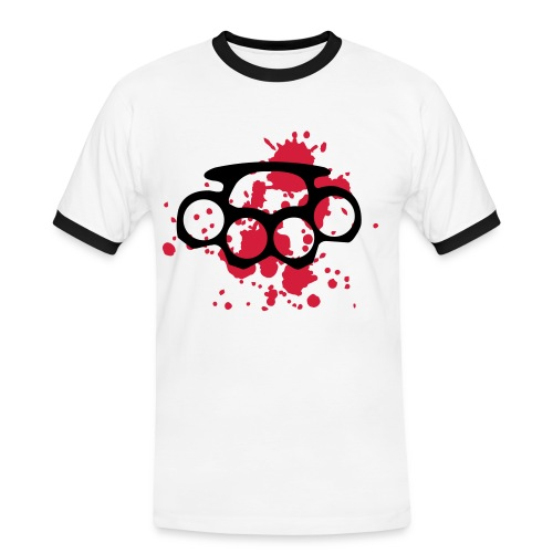 ABS 100 - Camiseta contraste hombre