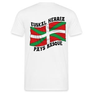 Ikurriña - drapeau Basque - T-shirt Homme