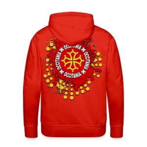 Occitanie - Sweat-shirt à capuche Premium pour hommes