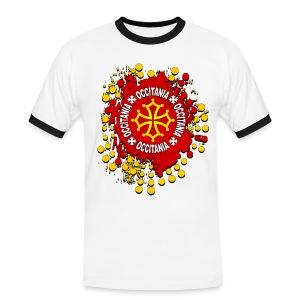 Occitanie - T-shirt contrasté Homme