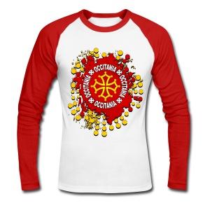 Occitanie - T-shirt baseball manches longues Homme