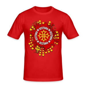 Occitanie - Tee shirt près du corps Homme