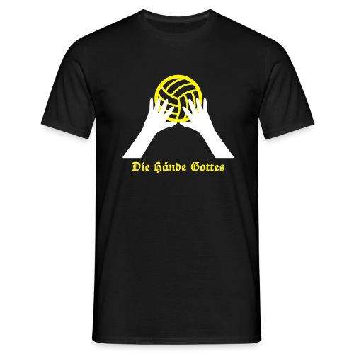 VolleyballFREAK Hände Gottes - Männer T-Shirt