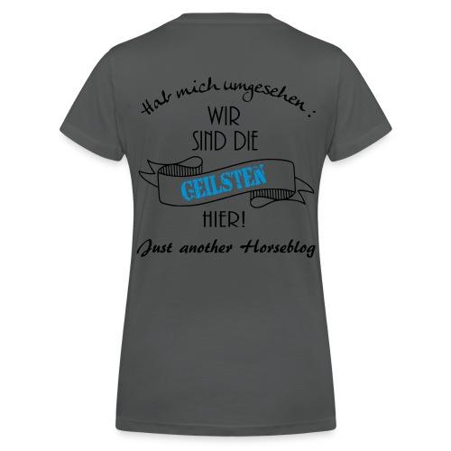 Wir sind die Geilsten hier - Frauen Bio-T-Shirt mit V-Ausschnitt von Stanley & Stella
