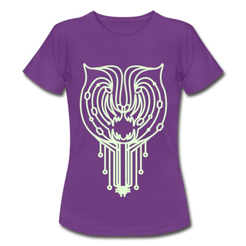 Tigertronic_Glow_Woman - Frauen T-Shirt