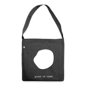 Point of view, Recycling Tote Bag - Schultertasche aus Recycling-Material