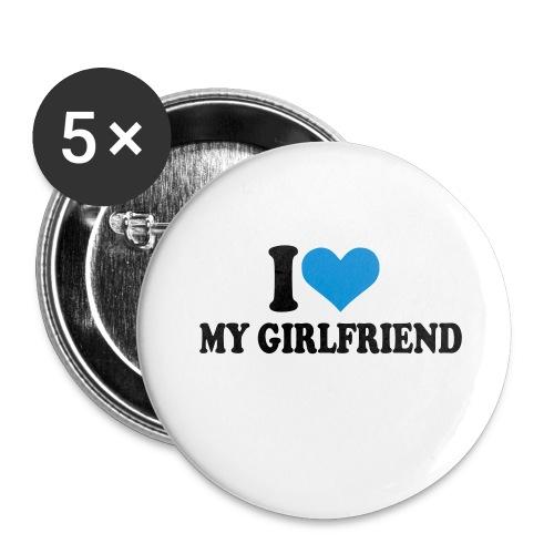 Drafaki Button 2 - Buttons klein 25 mm (5er Pack)