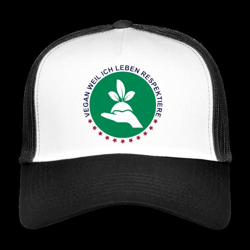 VEGAN - RESPEKTIERE LEBEN - Trucker Cap