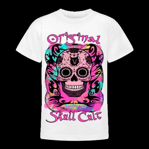 ORIGINAL SKULL CULT PINK TEEN - Teenager T-Shirt
