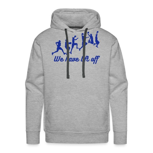 Slam Dunk Lift Off - Men's Premium Hoodie