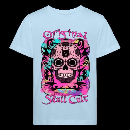 ORIGINAL SKULL CULT PINK KIDS - Kinder Bio-T-Shirt