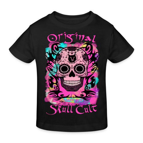 ORIGINAL SKULL CULT PINK KIDS - Kinder Bio-T-Shirt