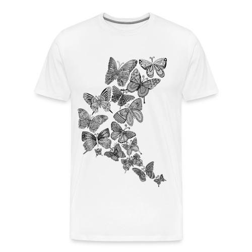 T-shirt Homme papillons - T-shirt Premium Homme