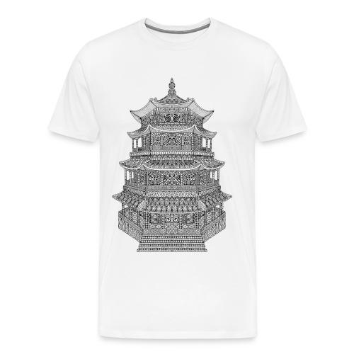 T-shirt Homme pagode temple japonais - T-shirt Premium Homme