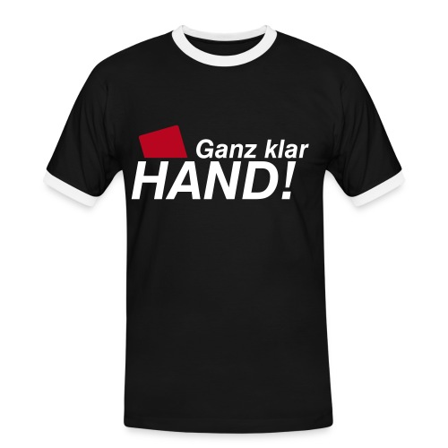 Fussball - Männer Kontrast-T-Shirt