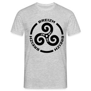 Breizh - Bretagne Triskel - T-shirt Homme
