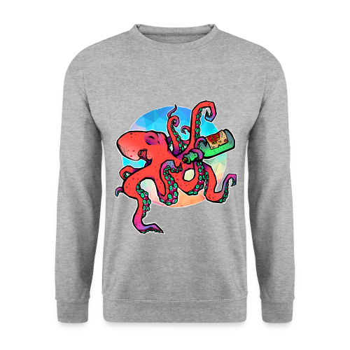 Kraken love Rhum - Pull Unisexe - Sweat-shirt Homme
