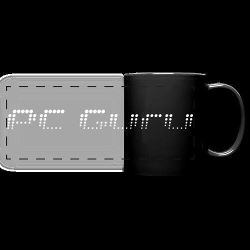 Tasse mit Aufdruck PC Guru - Panoramatasse farbig