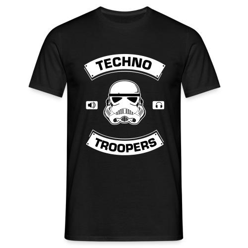 Techno Troopers - Männer T-Shirt