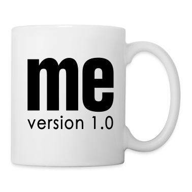 White ME version 1.0 NET Mugs