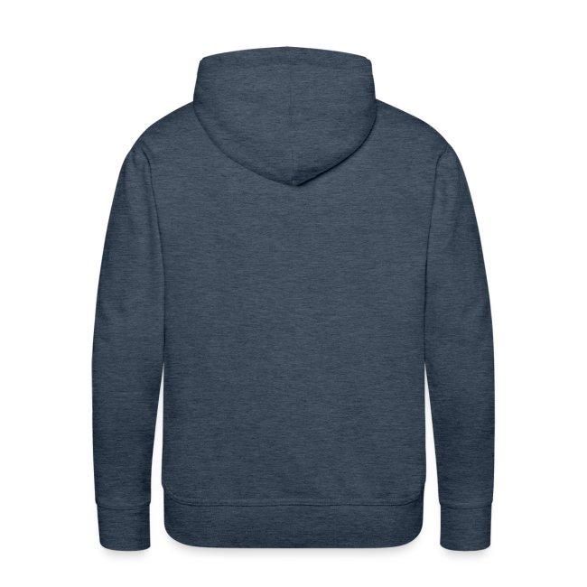 University mannen premium hoodie