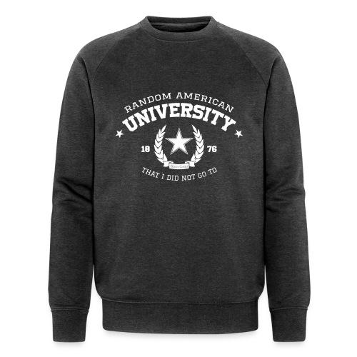 University mannen bio sweater - Mannen bio sweatshirt van Stanley & Stella