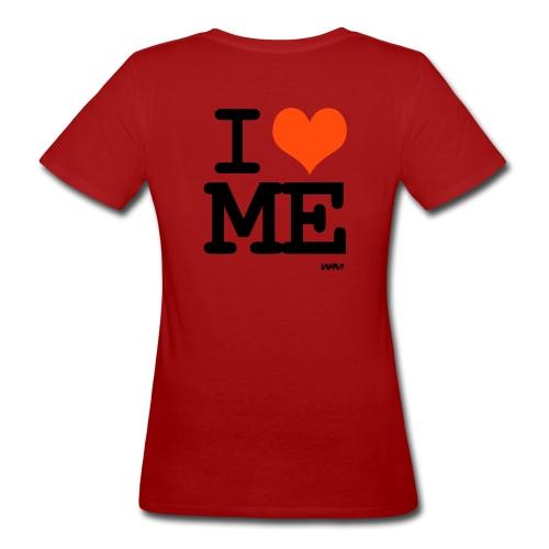 tee shirt femme i love me - T-shirt bio Femme