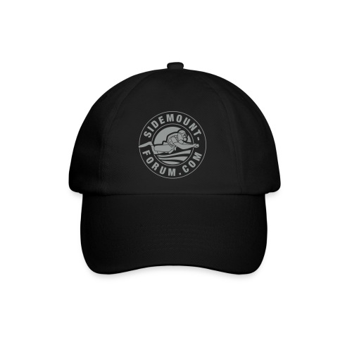 Baseballkappe mit grauem Stempel-Logo - Baseballkappe