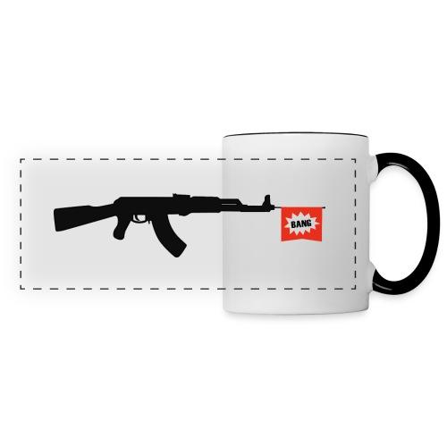 Dead Guns - Mug panoramique contrasté et blanc