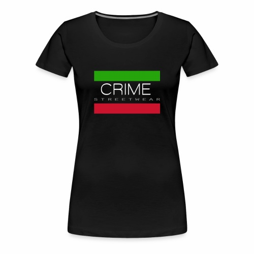 Crime Streetwear Female Shirt - Frauen Premium T-Shirt