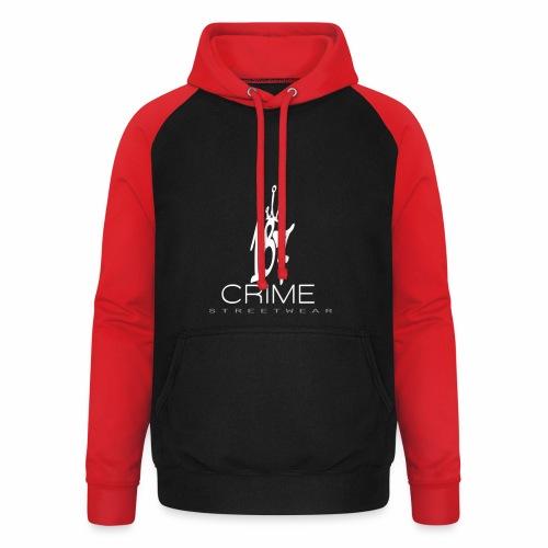 187 Crime Streetwear - Unisex Baseball Hoodie