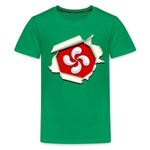 Croix du Pays Basque - Lauburu - T-shirt Premium Ado