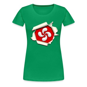 Croix du Pays Basque - Lauburu - T-shirt Premium Femme