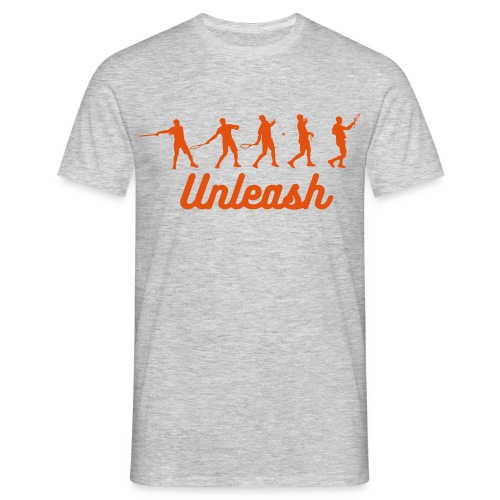 Unleash Tennis Forehand Stages Tee - Men's T-Shirt