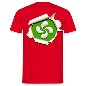 Croix du Pays Basque - Lauburu - T-shirt Homme