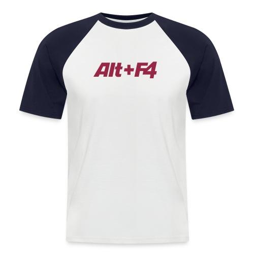 Computershirt - Männer Baseball-T-Shirt