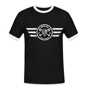 Breizh Free Bikers - T-shirt contrasté Homme