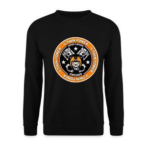 V-Twin skull biker - Sweat-shirt Homme