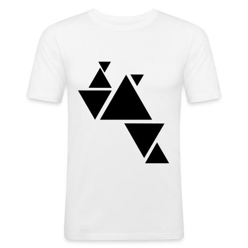 Männer Slim Fit T-Shirt Tri - Männer Slim Fit T-Shirt