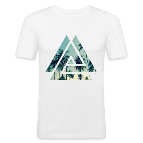 Männer Slim Fit T-Shirt Hawaii - Männer Slim Fit T-Shirt