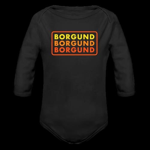 Borgund, baby! - Økologisk langermet baby-body